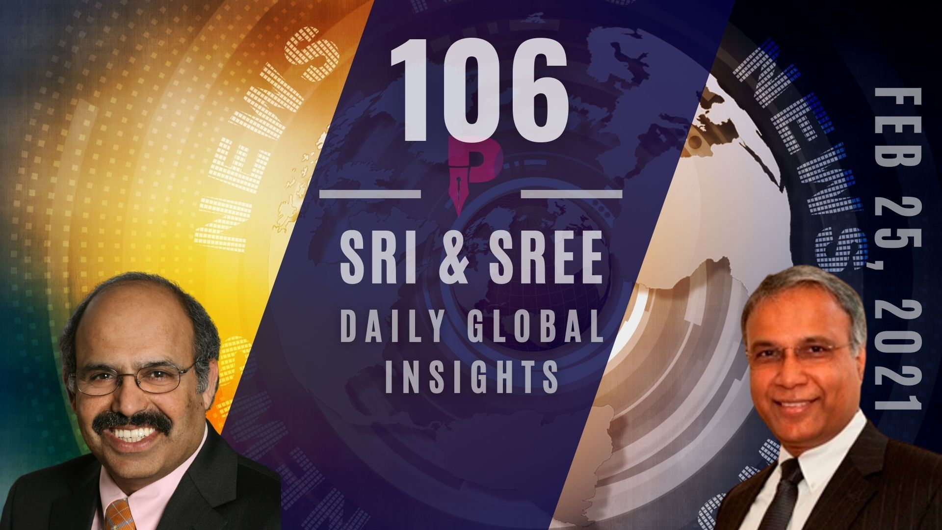 EP-106: Neera Tandon still not confirmed, WH stands firm. 9 of 23 done. India's $130B Defence budget draws suppliers from Worldwide. All this & more!