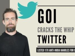 Finally GOI cracks the whip on Twitter. India Policy Head resigns