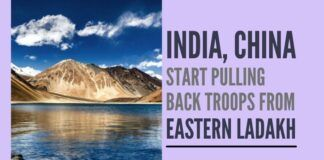 Will India's Defence Minister confirm what Chinese media is saying, of troop withdrawal along Eastern Ladakh?