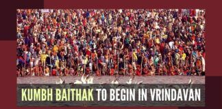 Vrindavan Kumbh Baithak, the precursor to Hardwar Kumbhmela begins on Sunday