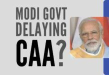 Inexplicable delay in framing rules for the CAA – are elections the reason?