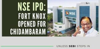 Chidambaram and his C-Company mandali are getting wealthy through NSE IPO scam