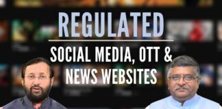 New norms from the GOI to regulate SM and Digital News Portals, need to furnish the first originator of information