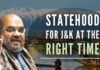 Statehood for Jammu & Kashmir at the right time, says Home Minister Amit Shah