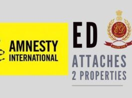 ED attaches properties of 2 India-based Amnesty organizations for Money Laundering