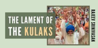 The real reason behind the protests may be Farm Acts 2020 will reduce the transfer of taxpayer money to wealthy kulaks in Punjab and Haryana