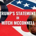Trump's statement on mitch mcconell (1)