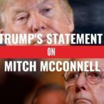 Trump's statement on mitch mcconell