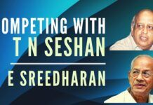 Dr E Sreedharan remembers when he and T N Seshan first met. The competition between the two in academics was fierce but they remained good friends. Watch till the end to find out how even after his death Seshan didn't forget Sreedharan and sent something to remember him by.