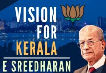 The recently announced CM candidate for Kerala by the BJP, Dr E Sreedharan has had a distinguished career in the Government of India, as a man who gets things done, in record time. Watch this interview, his clarity of thought and purpose and you will be screaming from the rooftops that age is just a number!