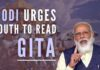 PM Modi urges youth to read Gita to understand the meaning of life