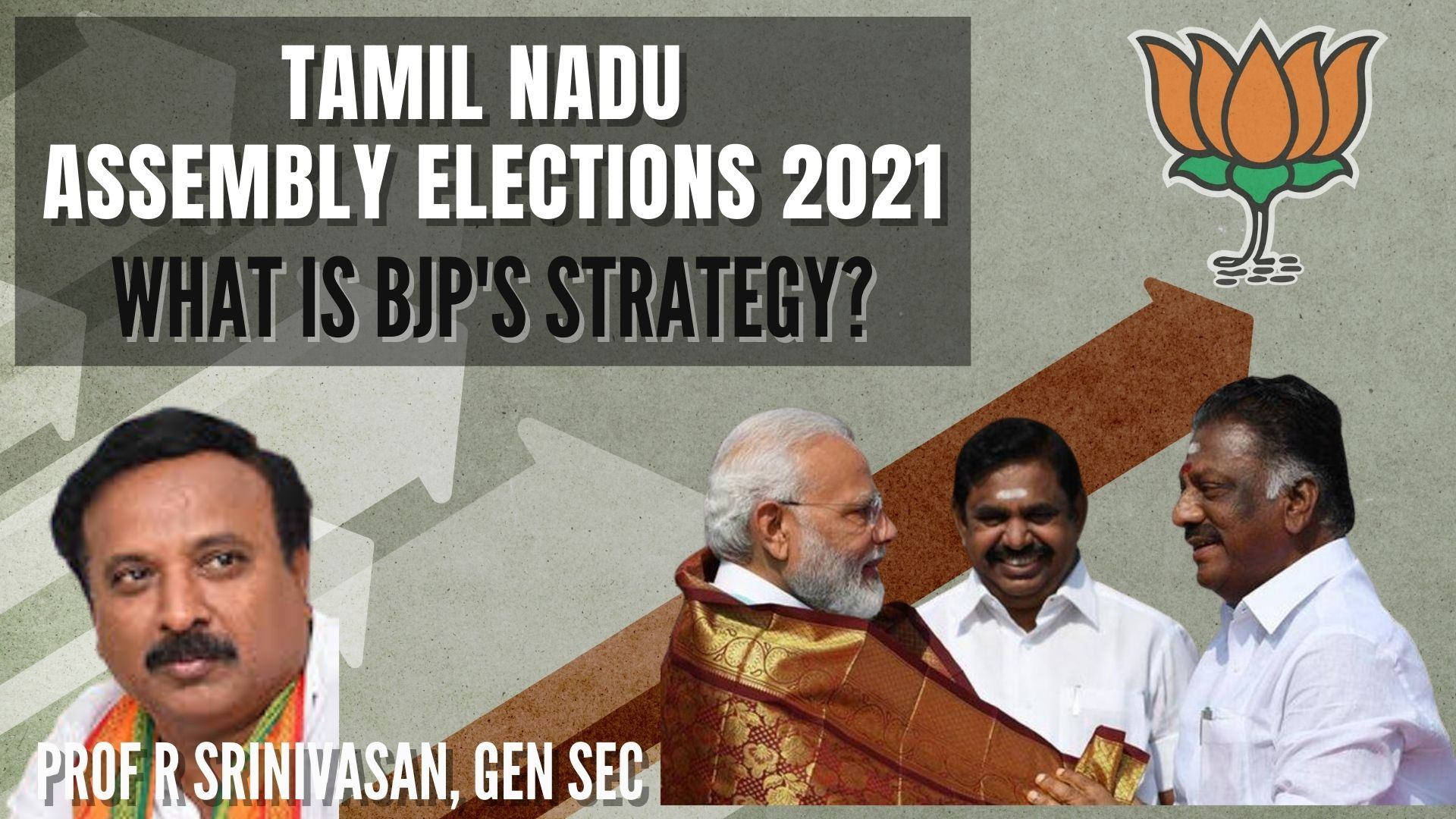 Role of caste in Tamil Nadu elections, Behind the scenes of how did Devendra Kula Velalars (DKV) become united under one name. How hard/easy was this? When did it start? What is BJP's overall strategy for TN? Why BJP won't demand more seat sharing. All this and more!