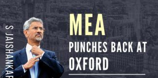MEA S Jaishankar punches back at Oxford University for its racism