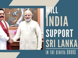 Will India support Sri Lanka in the upcoming UNHRC session in Geneva? Has the teardrop nation done enough?