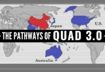 China is too big for any one nation to contain. There is no alternative to the QUAD 3.0.