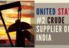 US overtook Saudi Arabia as India's second-biggest oil supplier