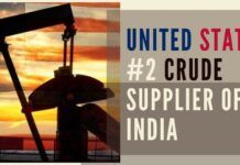 US overtook Saudi Arabia as India's second-biggest oil supplier