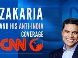 Zakaria and his anti-India coverage on CNN inspired by the Freedom House report