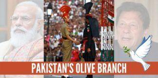 Pakistans Olive Branch: Gabrana nahi
