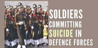 According to many internal studies of the forces, many soldiers go through emotional trauma related to domestic issues while staying in camps on official duty.