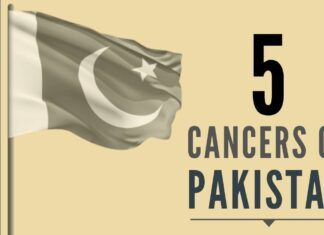 Whether Five Cancers in Pakistan are terminal or not will be judged by history as it unfolds