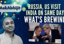 EP-9 #AskAbhijit As Russia and The US come visiting the same day to India, what could be the reason?
