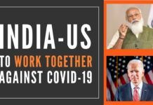 US-India relations stabilized at least in the context of their fight against Covid