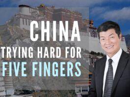 Consuming Tibet was just the beginning - Ladakh, Nepal, Sikkim, Bhutan and Arunachal are on their agenda, says Sangay