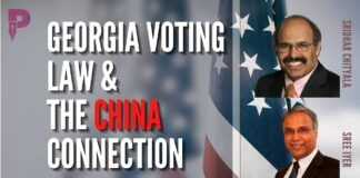 Sridhar Chityala and Sree Iyer discuss the pros and cons of the new Georgia Voting law and if there is someone behind the scenes orchestrating the moves
