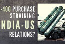India-US relations getting strained over India's purchase of S-400?