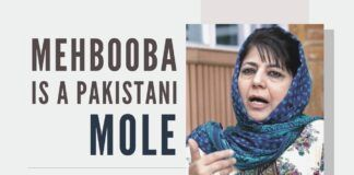 Mehbooba has been making provocative statements daily during her meetings with the leftover party workers, her followers and while interacting with media persons