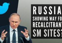 Is Russia showing the way for recalcitrant Social Media sites? Slows down Twitter in Russia
