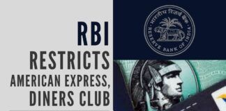 Non-compliance to PSS Act by American Express, Diners Club invites the wrath of RBI