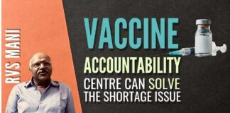 RVS Mani shows the way for the Central Government to manage Vaccine implementation using a provision in the Constitution. As news emerges that many in power in Pakistan are getting vaccinated with India-manufactured vaccines, the border states have their work cut out. All this and more!