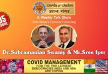 Dr. Subramanian Swamy and Sree Iyer on COVID and how India and the US are coping