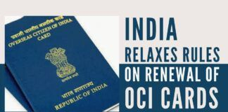 Relaxation in OCI card renewal and issuance eases concerns about OCI cards