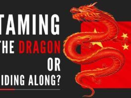 For expansionist force like China to be thwarted, India must be adequately prepared to challenge the Dragon on its own