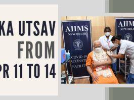 PM Modi announces Tika Utsav from Apr 11 to Apr 14