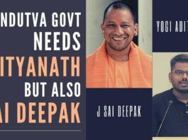 The best way for Adityanath to overcome all odds is to promote a young & dynamic advocate J Sai Deepak, he can deliver much better than anyone