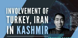 Geopolitical Analyst Abhinav Pandya describes the various ways in which Iran, Turkey and Pakistan continue to try and stir the pot in Kashmir.