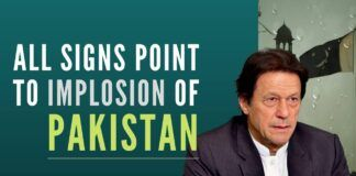 The author has highlighted some red flags pointing towards an imminent implosion of the state and society of Pakistan.