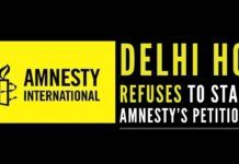 Amnesty International suffer a major setback as Delhi HC refused to stay the attachment of its bank accounts and deposits by ED