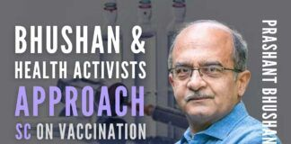 Object to vaccination certificates being mandatory for availing services