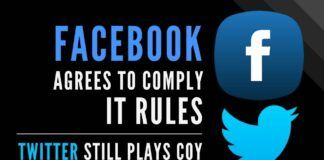 While Facebook agrees to comply with India's IT rules, Twitter still plays coy