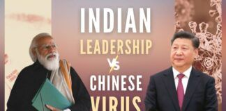 India will win the war against the unmitigated catastrophe of the Chinese virus with effective and strong leadership.