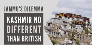 There is no difference between what Brits did to the people inhabiting during British India and what New Delhi and Kashmir did to Jammu province and its people