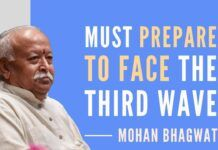 Stay home, stay safe, stay united: RSS Chief sounds a note of caution on preparedness for the expected third wave of Covid