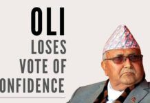 Is this a big coup for India, with Oli who was being propped up by China losing vote of confidence?