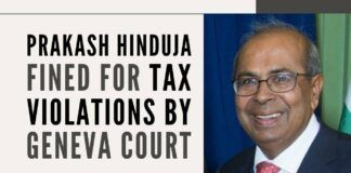 A member of the famed Hinduja family finds himself in hot water in a Swiss court