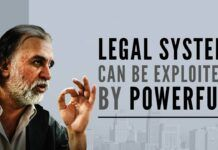 The author examines the Tejpal case and shows how the legal system in India can be exploited by the powerful
